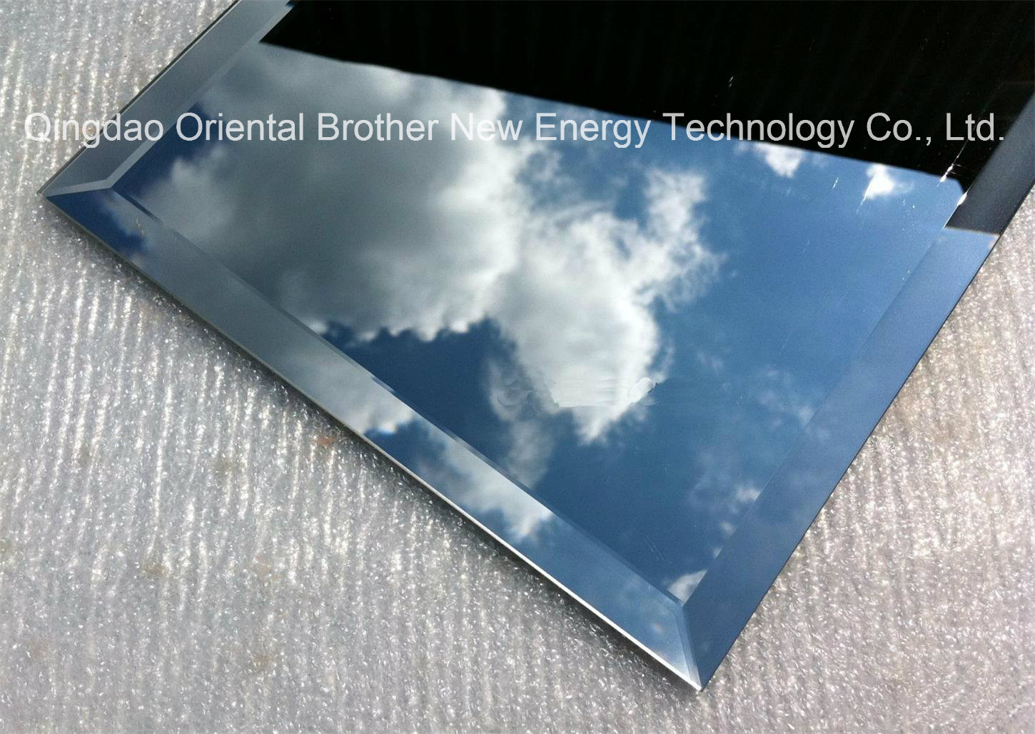 Beveled Silver Mirror Aluminum Mirror With Beveled Polish Edge