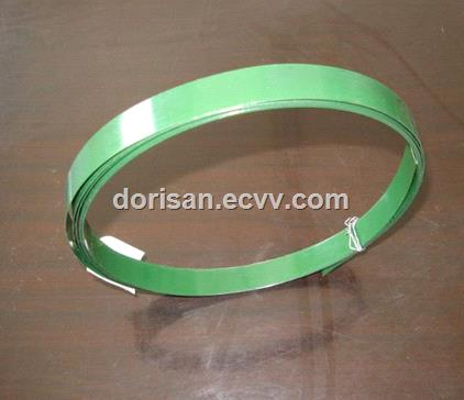 Packing application and bright anneal surface treatment black coating packing beltstrap