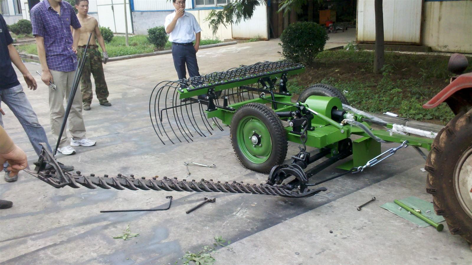 Sickle Bar Mower, Hay Rake Machine