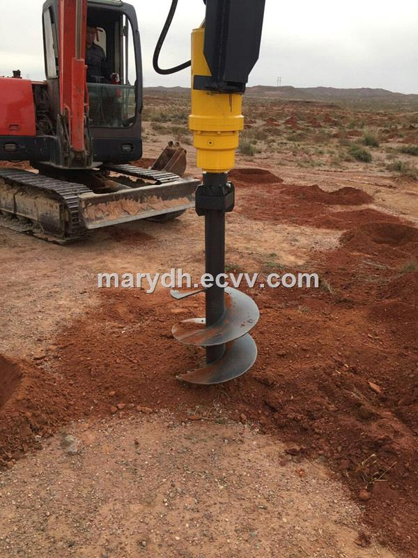 hydraulic earth augerhole digging machineground hole drilling machines