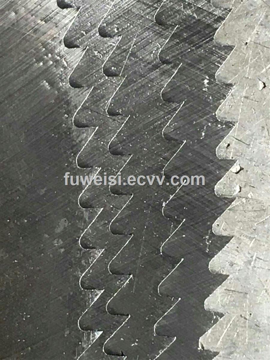 Cold friction saw blade