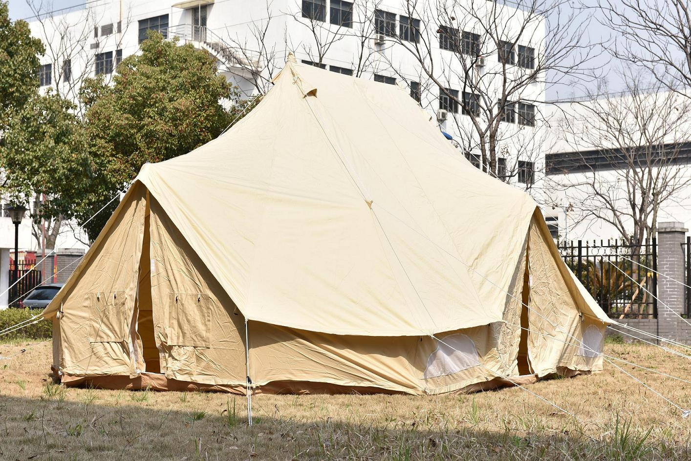 6m Double Door Bell Tent & 6m Double Door Bell Tent purchasing souring agent | ECVV.com ...