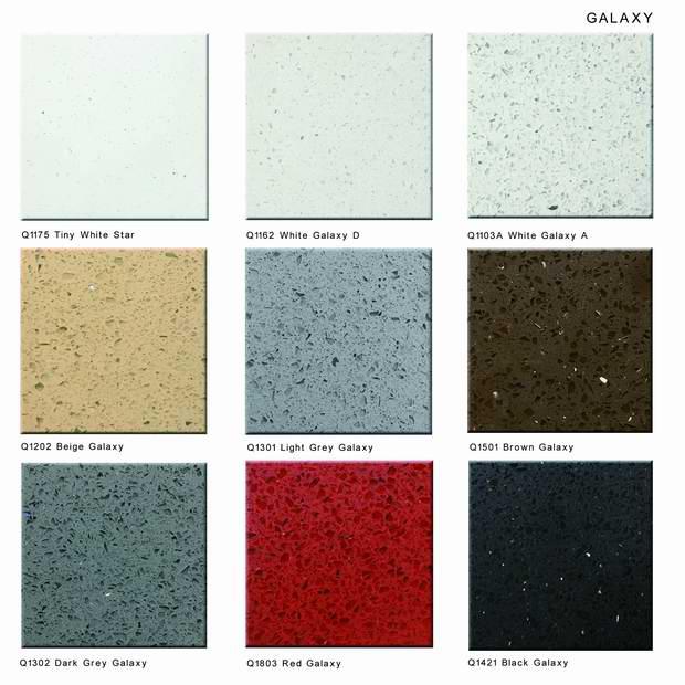 Construction Materials Artificial Stone Calacatta Nuvo White Quartz ...