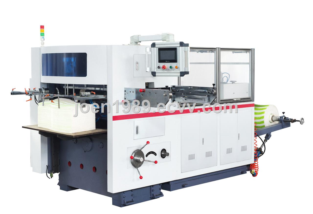 Supply Roll Paper Cup Fan Automatic Die Cutting Machine Type MR-930A