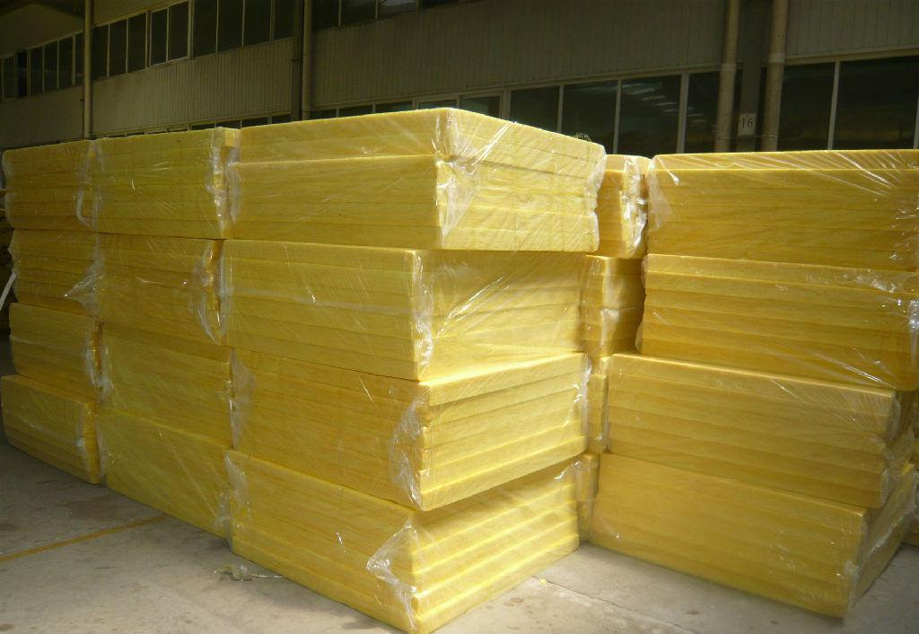 Fiberglass wool board with kraft facing with aluminum foil for Cost of mineral wool vs fiberglass insulation