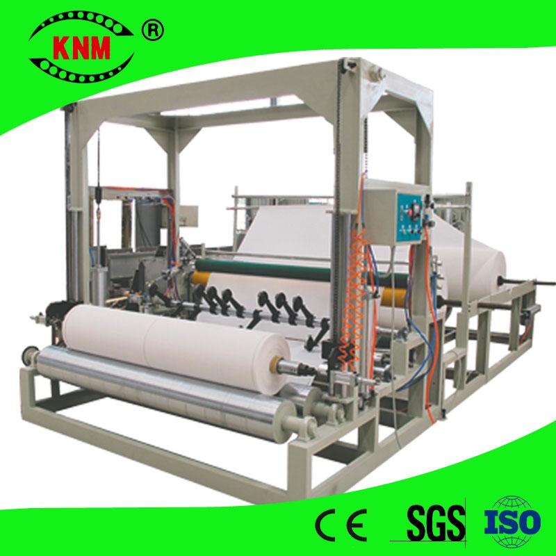 High Speed Toilet Paper Slitting Machine Jumbo Roll Slit To Maxi Roll