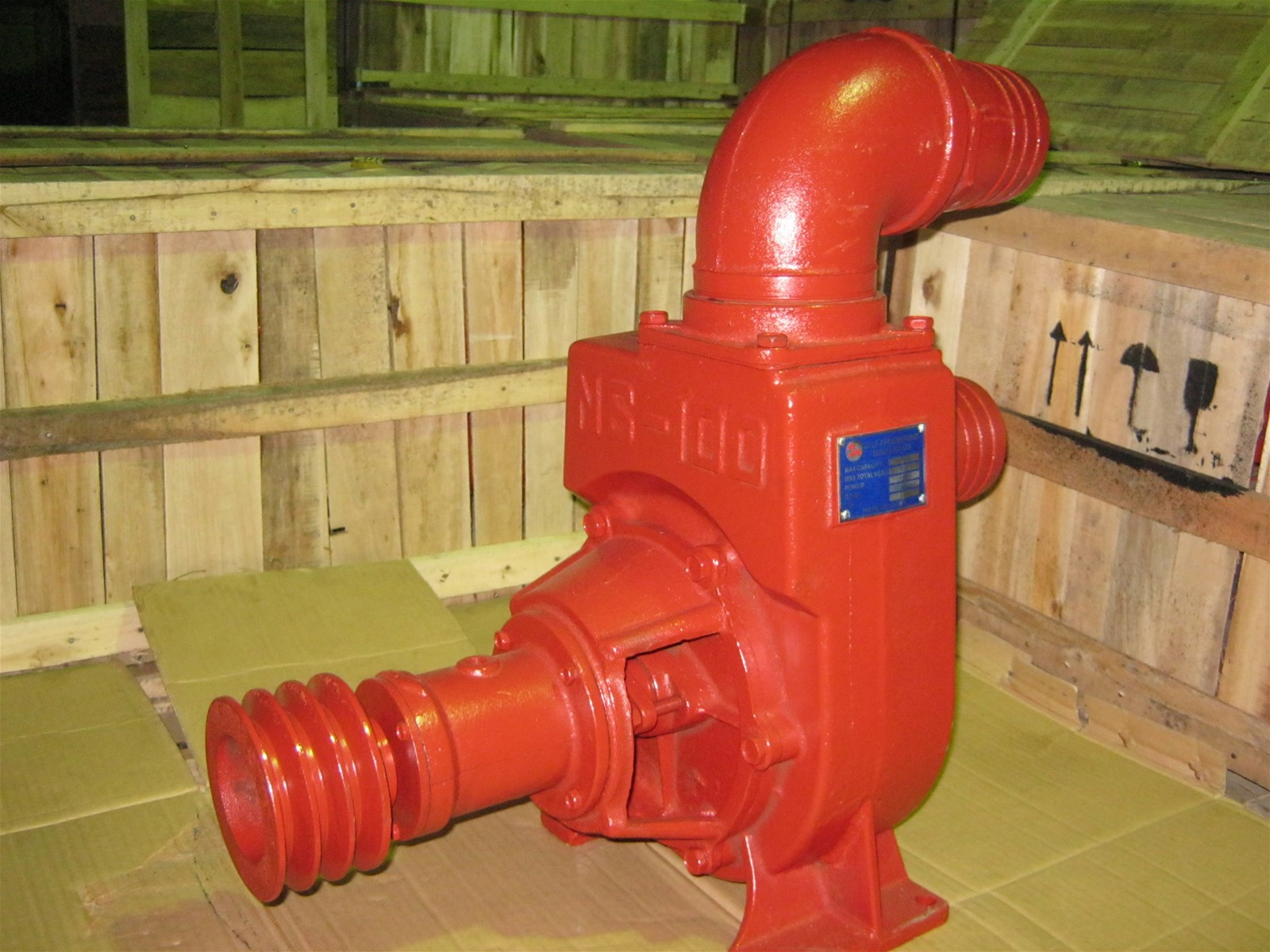 NS100 Self Priming Centrifugal Diesel Engine Drive Water Pump for Irrigation