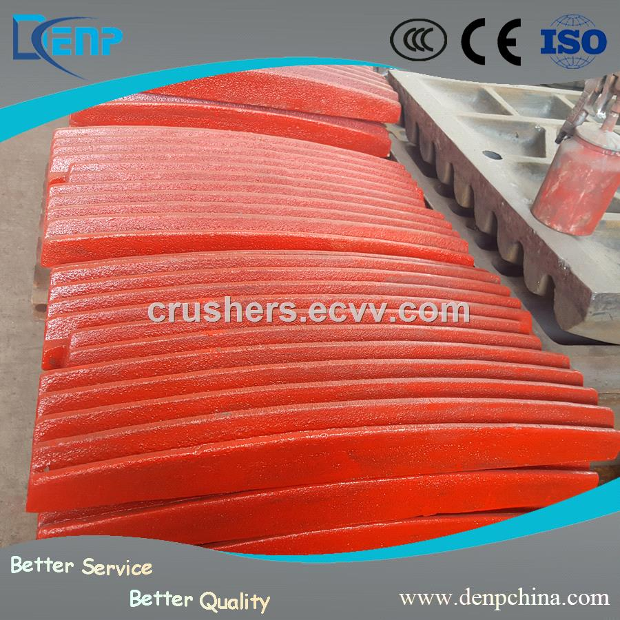 Superior High Manganese Steel Jaw Plate for Crusher Machine