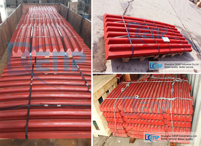 Durable Wearing Part Jaw Plate for Jaw Crusher