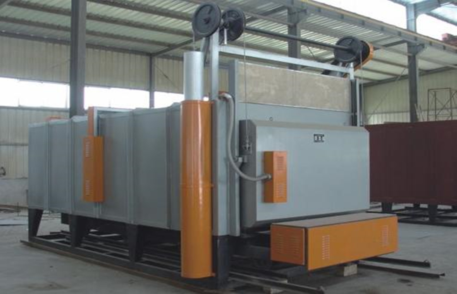 car type industrial electric tempering furnace up to 1200degrees