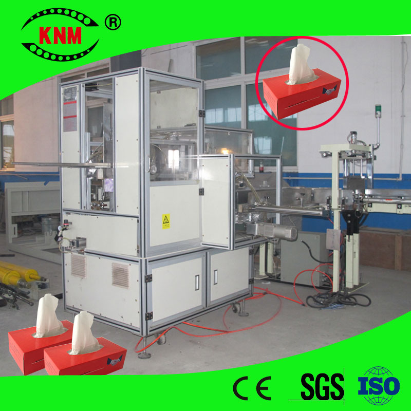 High Speed Full Automatic Tissue Paper Carton Box Packing Machine Facial  Tissue Box Sealing Machine