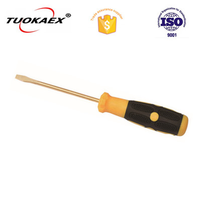 Slotted screwdriver non sparking slotted screwdriver
