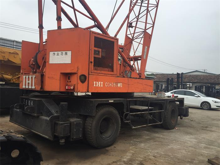 Seaport Crane Good Condition Japan Used IHI Habour Crane Wheel Crane