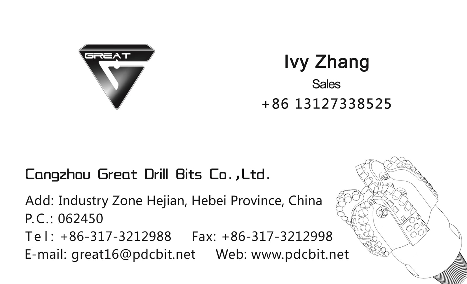 China supplier PDC drill bits well quality