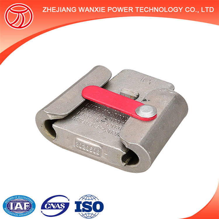 WX-1 Self-Locking C-Type Wedge Type Parallel Groove Wire Rope Clamp ...