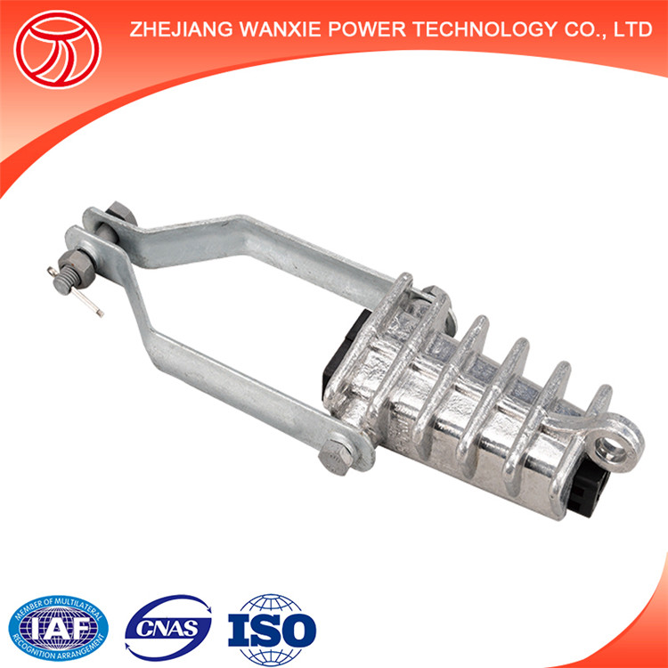 Wire Cable Clamps For Electrical Insulators : Electrical wire cable suspension clamp