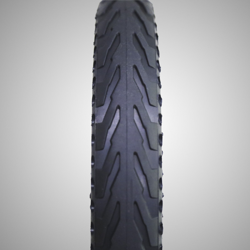 142125 Inch Air Free Solid Colorful Electric Bike Tire