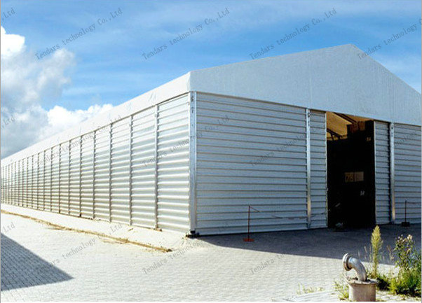 durable aluminium frame warehouse tent manufactured by tendars in Guangzhou