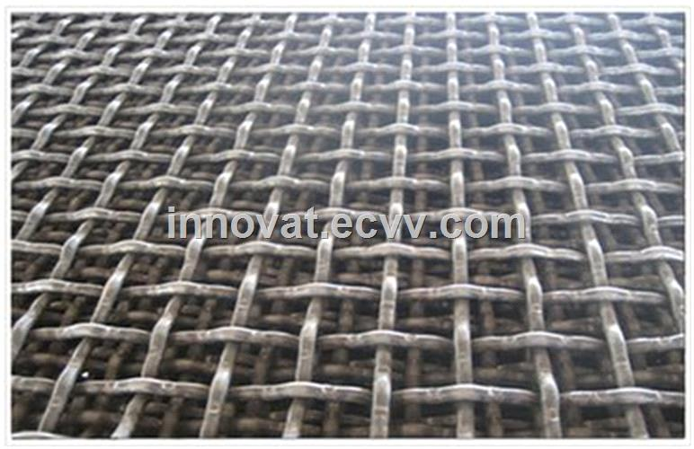 stainless steel wire Material and Plain Weave Weave Style stainless steel crimped wire mesh for BBQ mesh