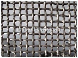 Stainless Steel Wire Material & Plain Weave Weave Style Stainless Steel Crimped Wire Mesh for BBQ Mesh