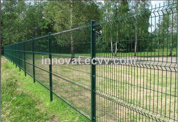 3d Curved Wire Mesh Fence Highway/Galvanized Welded Wire Mesh Fence