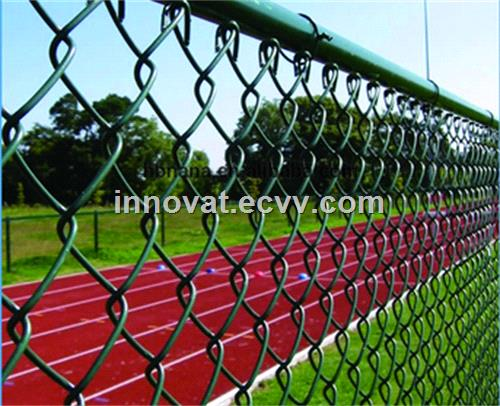 High Quality Zoo mesh PVC Coated Chain Link Fence