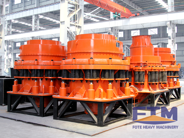 High Efficiency Spring Cone Crusher For Hard oresRocks
