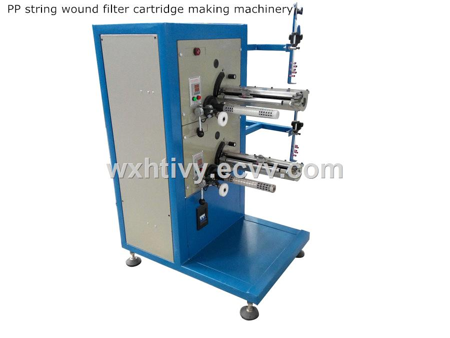 Pre-Filter Use PP&CTO Cartridge Making Machine for RO/UV Water Treatment System
