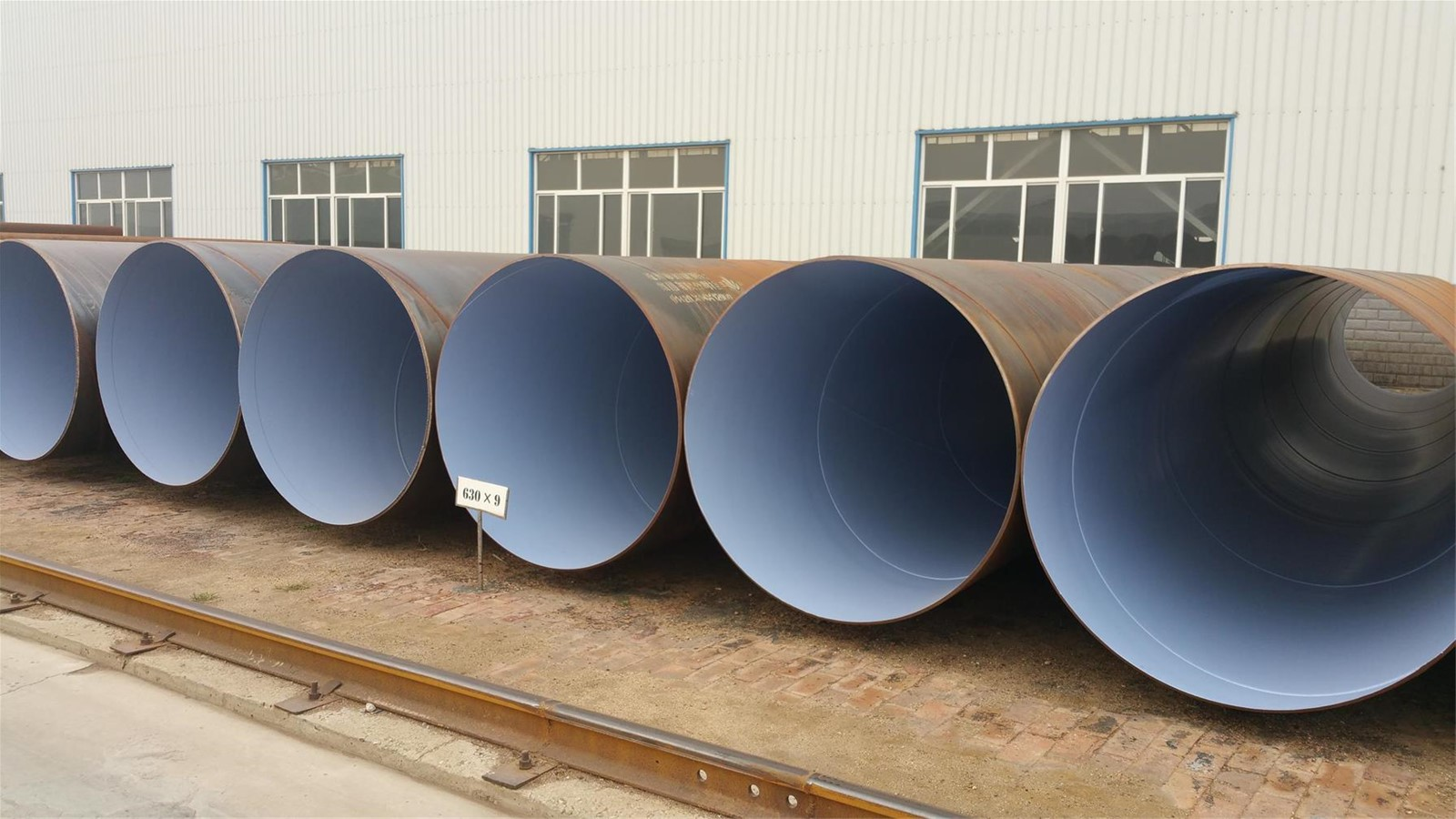 Internal FBE Coating SSAW PIPE