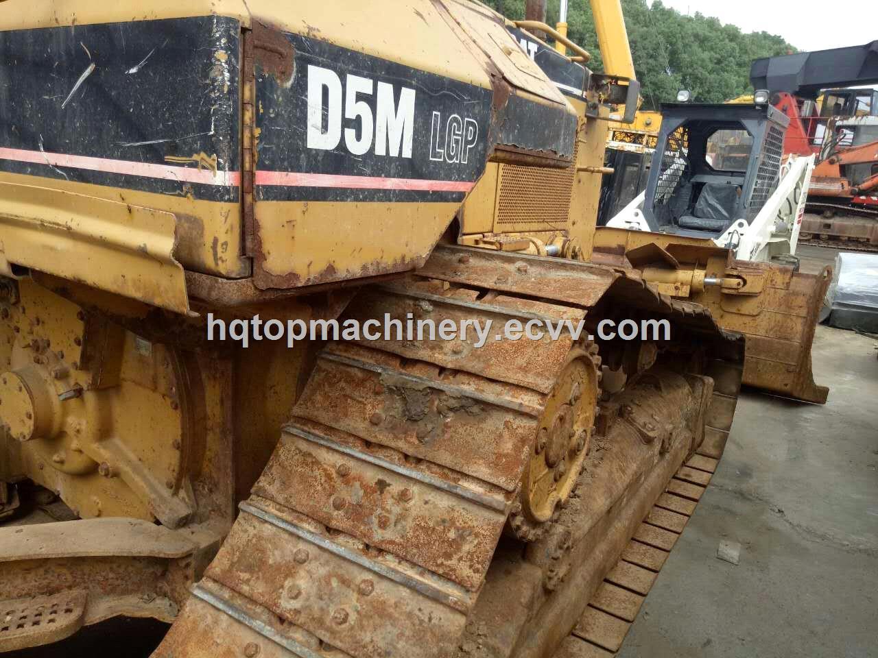 Japan CAT D3 D4 D5 Used Crawler Bulldozer, Cheap D5M Track Bulldozer