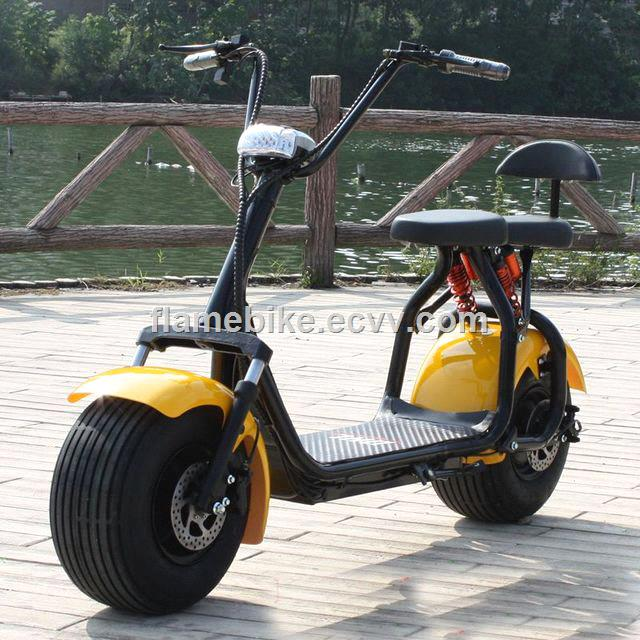 800W Electric Motorcycle with FR Suspension 2 Seats