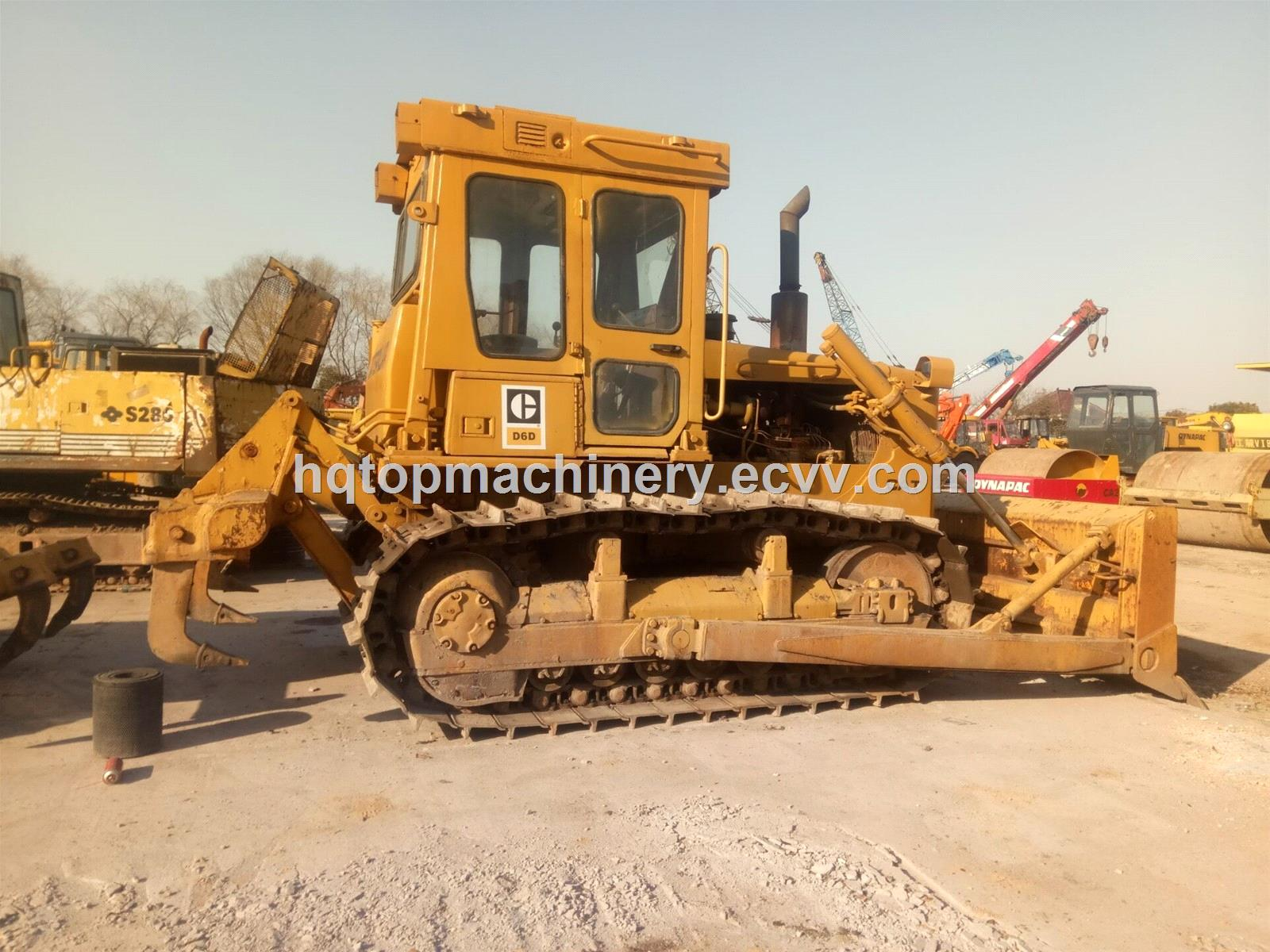 Used CAT D6D D6G Japanese Crawler Bulldozer, Secondhand D6 Small Bulldozer  Dozer for Sale
