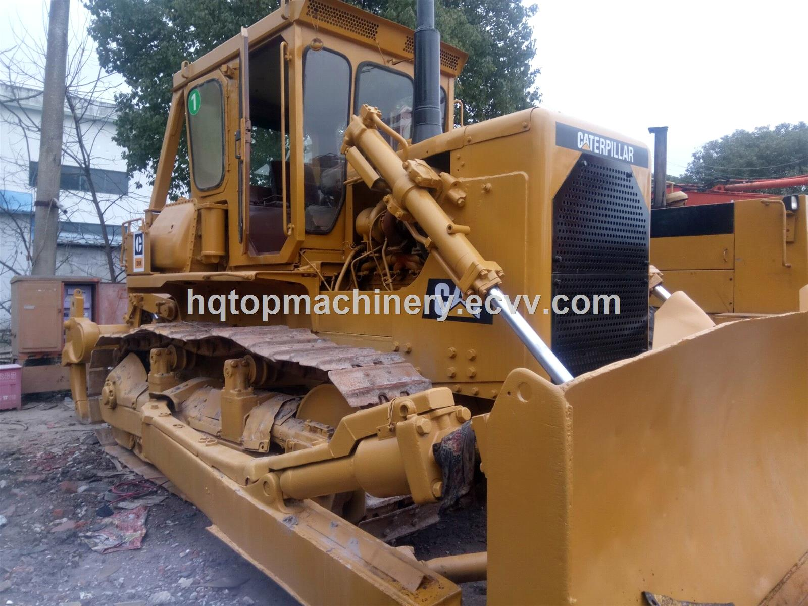 Caterpillar Used Track Dozer, Cheap Japanese Hydraulic D8K D8 Crawler Used Bulldozer