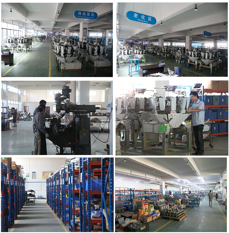 multi head weigher packing machineautomatic multihead combination weigher