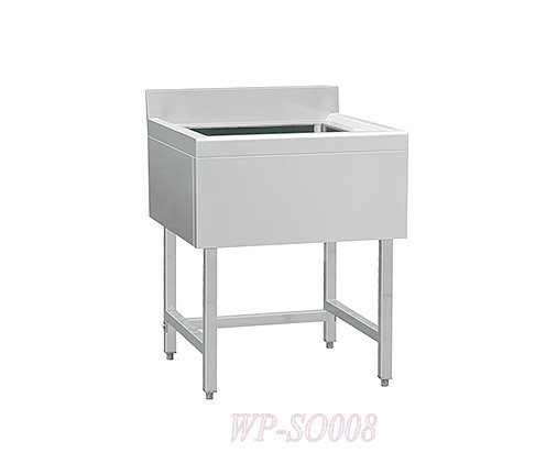 Stainless Steel Single Sink with /without under Shelf