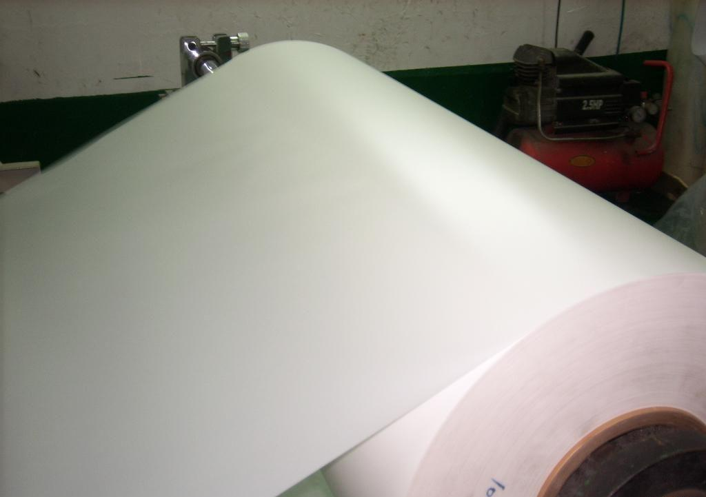 Matte Polyester Film for Label Printing