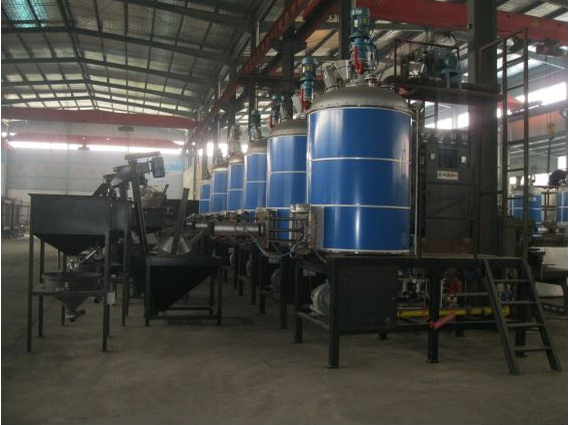 EPS Batch PreExpender with Fluidized Bed Dryer