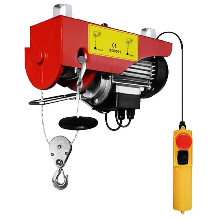 Portable Electric Hoist 500kg 220v Mini Electric Chain Hoist