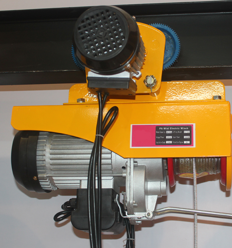 Hot Sale Mini 220 Volt Electric Wire Rope Hoist purchasing, souring ...