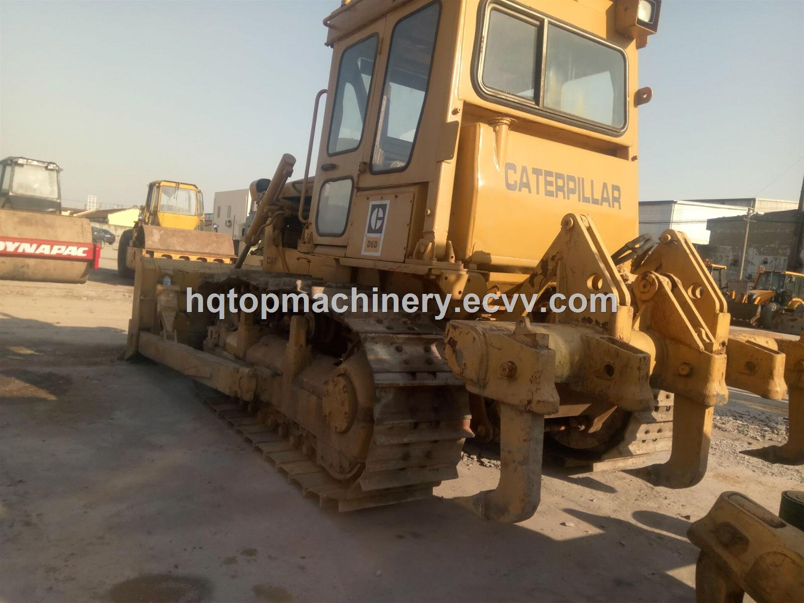 Used CAT D6 D7 D5 Japanese Bulldozers, Secondhand Cheap Small Bulldozer  Dozer D6D for Sale