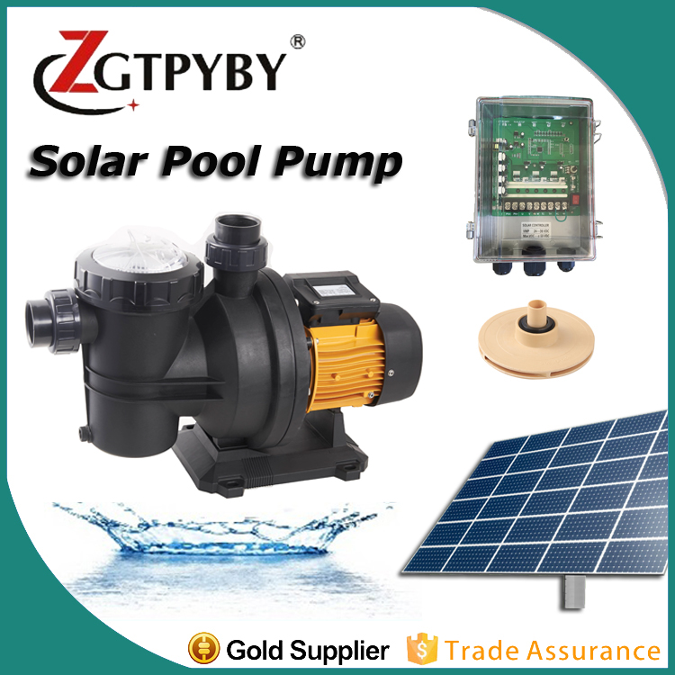 DC Solar Swimming Pool Pump Kit Water Circulation Solar Pool ...