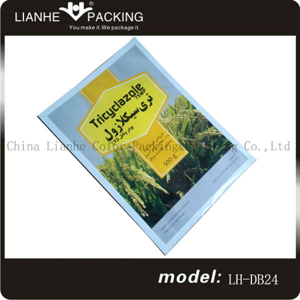 Durable plastic package bag for emulsions