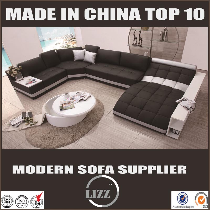 2017 Hot Sell U Shape Corner Sofa Set