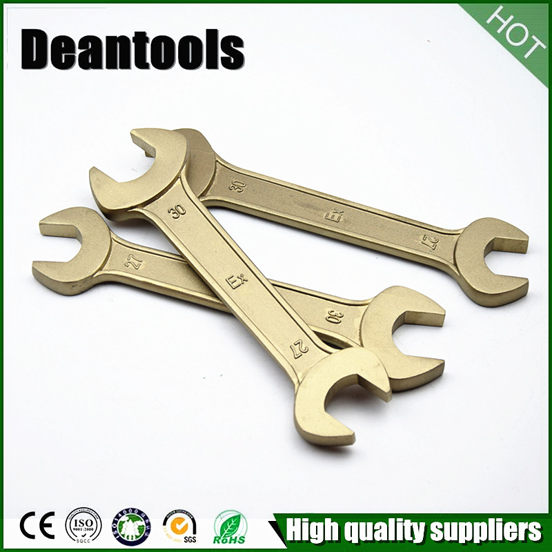 Non Sparking Double Open End Wrenchaluminum copper open end spanner