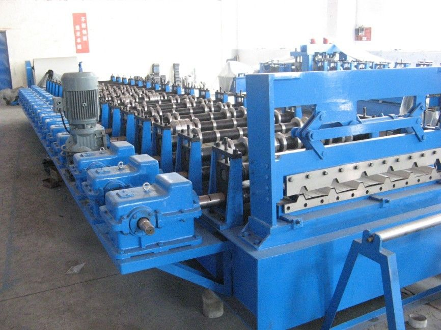 Gimbal Gearbox Drive Roof Tile Roll Forming Machine