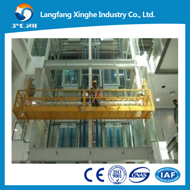 China manufactures aluminum ZLP630 lifting equipment