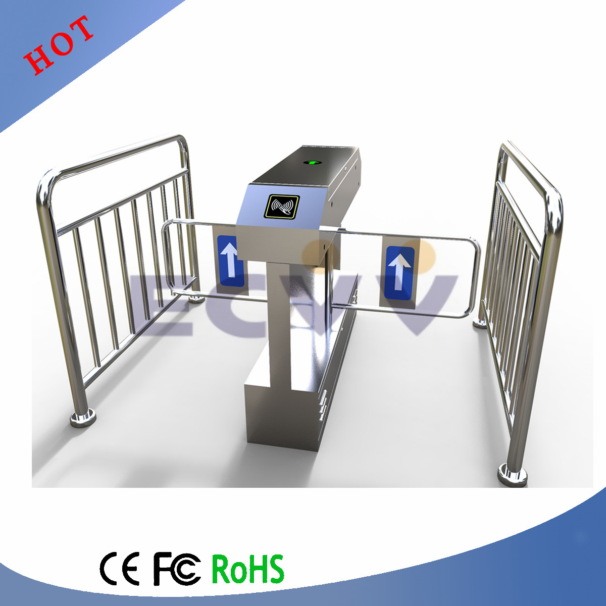 RFID/ID Automatic Door Security Access Control Swing Barrier Gate