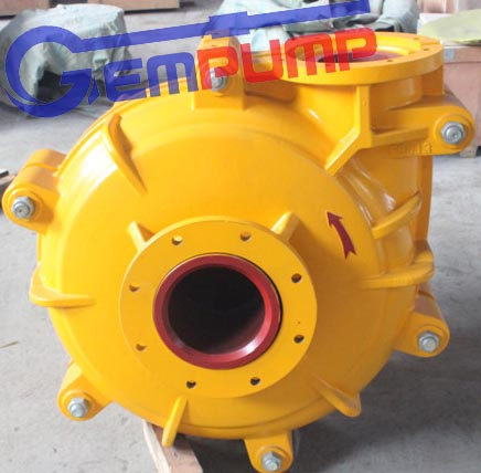 6/4e-Ah (R) Slurry Pump Heavy Duty Mineral Processing Centrifugal Coal Mining Slurry Pump