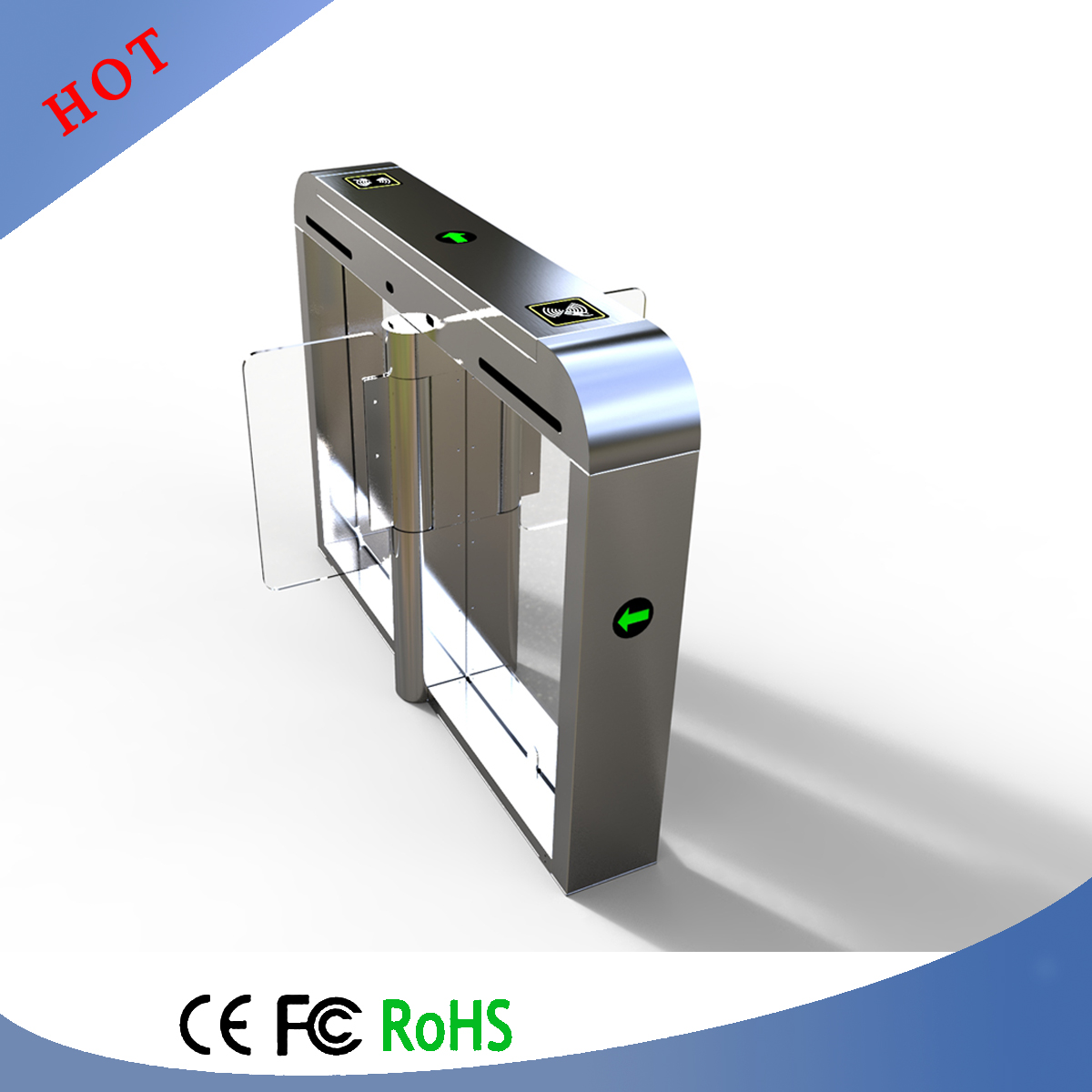 Hot Selling High Speed Gate with RFID Card Access Control System
