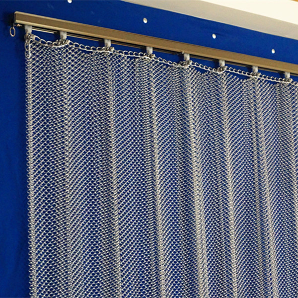 Hanging Metal Wire Mesh Curtainroom Divider For Decoration